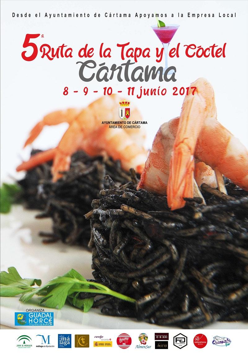 El municipio malagueño de Cártama se prepara para celebrar la V Ruta de la Tapa y el Cóctel